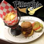 PINOCCHIOS CHEESE BURGER