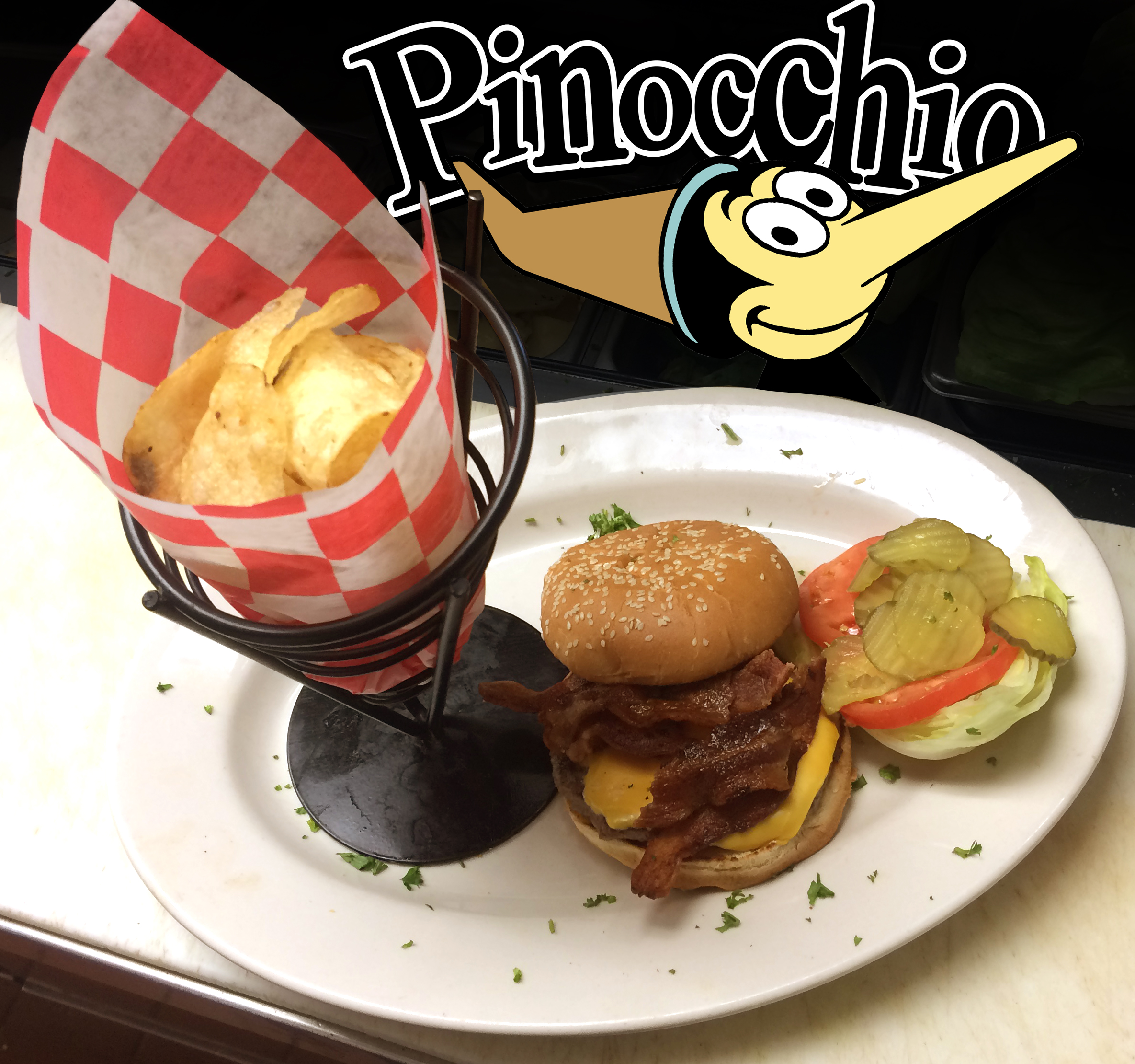 Pinocchio CheeseBurger