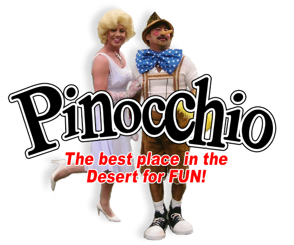 Marilyn & Pinocchio of the Desert