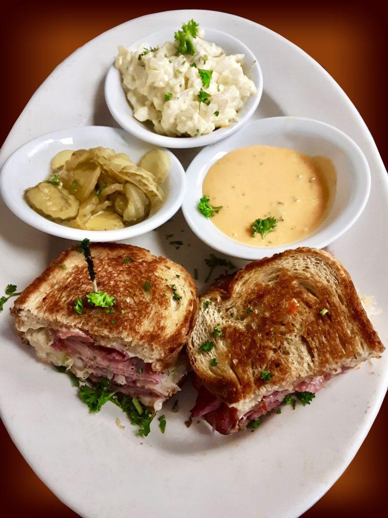 Pastrami Reuben Sandwich