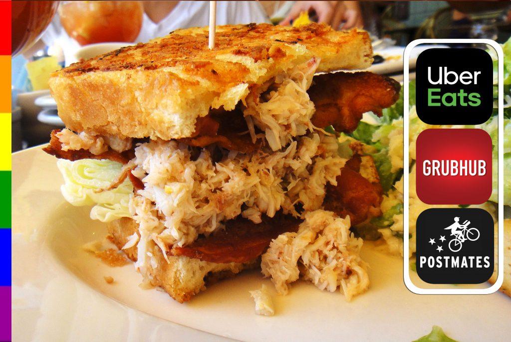 Crab Meat Sandwich