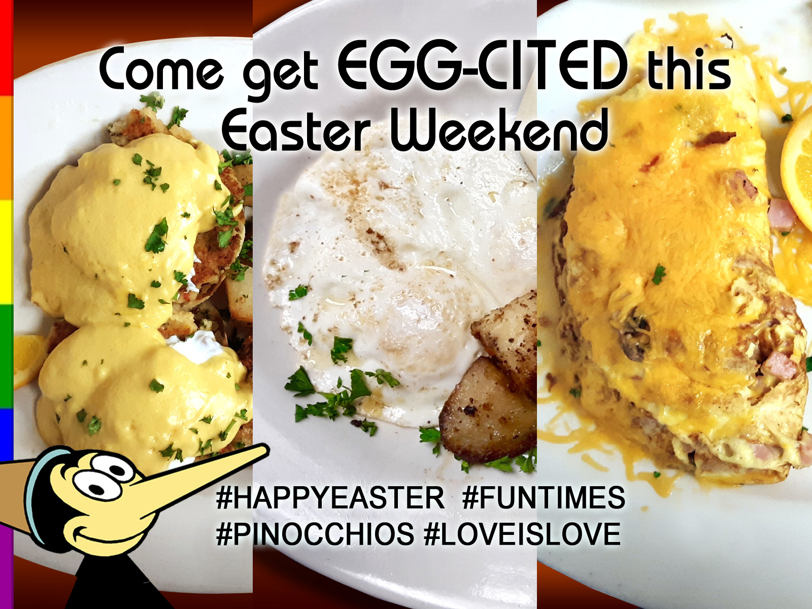 Come get EGG-CITED this Easter Weekend!