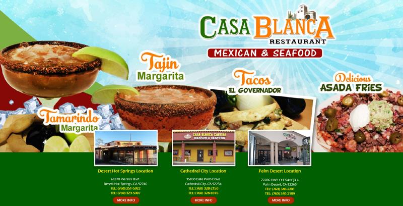 Casa Blanca Restaurants